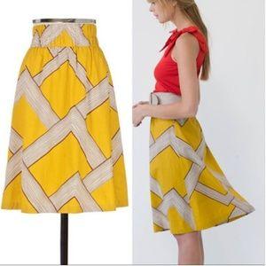 Anthro Barila mid century modern skirt